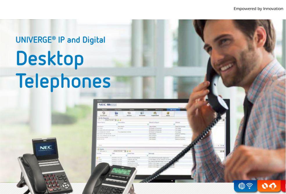 NEC's Desktop Telephones